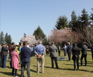 Tacoma Plant Tree Planting Ceremony